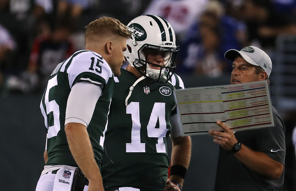 Jets finally name Sam Darnold Week 1 starting QB