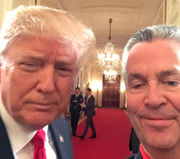 A selfie with Trump and other stories from N.J. man's White House visits