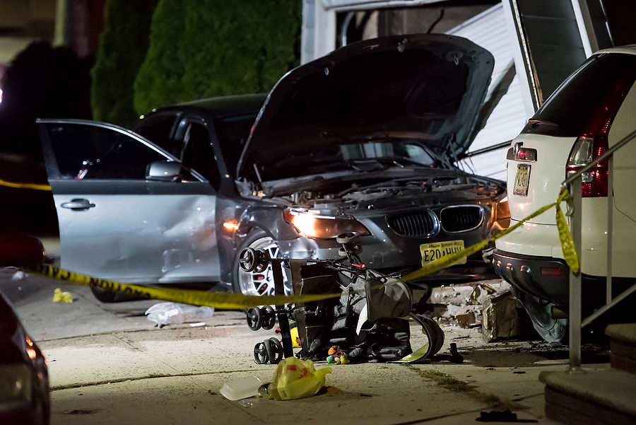 Trick-or-treater, teen remain hospitalized after Bayonne Halloween night crash