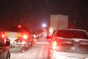 I-78 West shut by wreck as snow falls at 'insane rates'