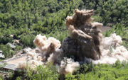 North Korea demolishes nuclear test site (photos)
