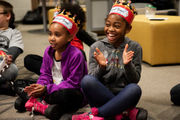 Quadruple amputee surprises students with medieval event for supporting her