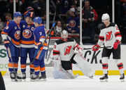 How Devils' Mackenzie Blackwood has dealt with 1st adversity: 4 observations, studs and duds from Islanders loss | Blake Coleman, more