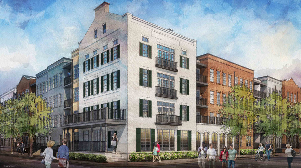 Mid-City apartment complex on Lafitte Greenway to open first phase in early 2019