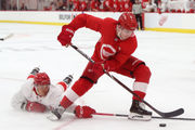 Red Wings' top picks Filip Zadina, Michael Rasmussen team up, show potential