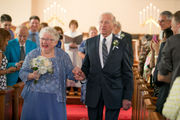 Senior couple, ages 92 and 85, tie the knot in Chagrin Falls