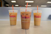 Dunkin' Donuts Girl Scout Cookie coffees: Is it overkill to add cream and sugar to flavored coffees?
