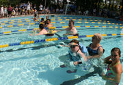 Athletes with disabilities take center stage in the pool at Hillside Swim Club