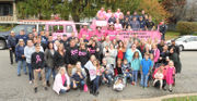 Firefighters use the power of pink to help cancer sufferer (PHOTOS)