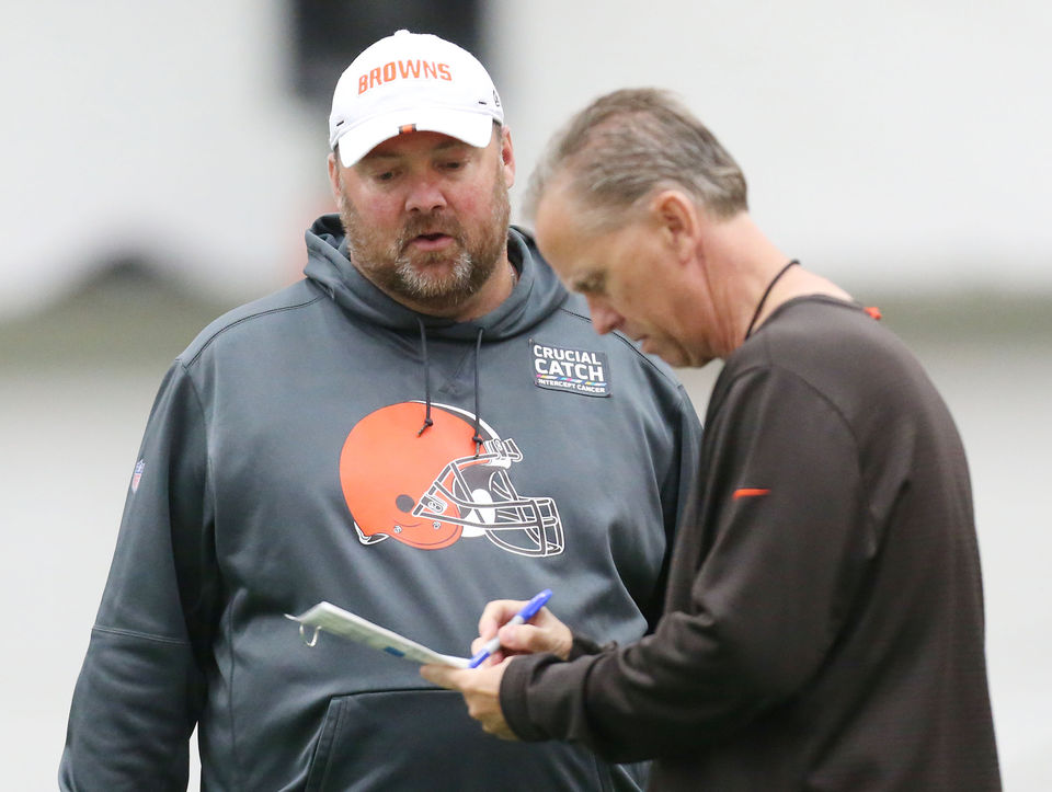 What is your opinion of Freddie Kitchens after this first game? Hey, Mary Kay!
