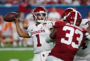The 2019 NFL Draft is lacking in quarterback talent. With that said, teams looking for a passer will probably need to maneuver their way up the draft board to select their potential franchise quarterback. Luckily for quarterback-needy teams, the squads in the top five aren't desperate for passers. That should lead to a lot of activity involving the quarterback position in the top 5-10 picks. How many trades will we see? Will the Giants be able to find their Eli Manning successor? Which side of the line will the Eagles look to address? Will Sam Darnold receive a playmaker from the Jets' front office? And then there is the case of Oklahoma's Kyler Murray, the Heisman Trophy winner and Oakland A's baseball product, who declared for the draft on Monday. Let's take a look: