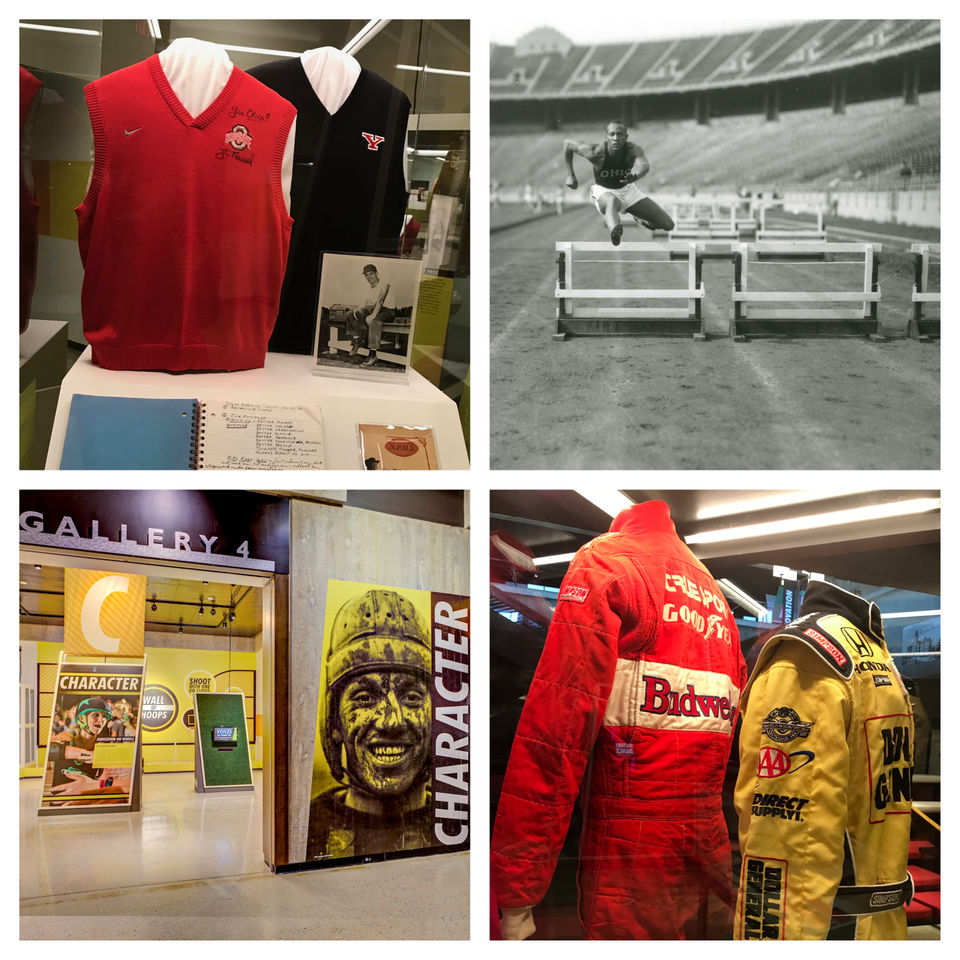 Sweater vests, Chief Wahoo and more: Ohio History Center explores state's rich sports past