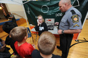 Students go to Safety Town, learn to navigate dangerous day