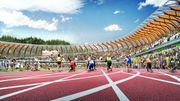University of Oregon rolls out a space-age design for a new Hayward Field