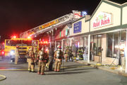 Bagel store damaged in fire but no one hurt (PHOTOS)
