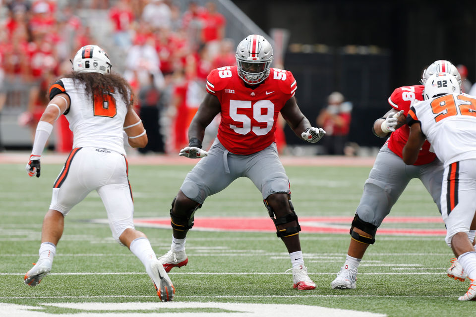Image result for isaiah prince ohio state