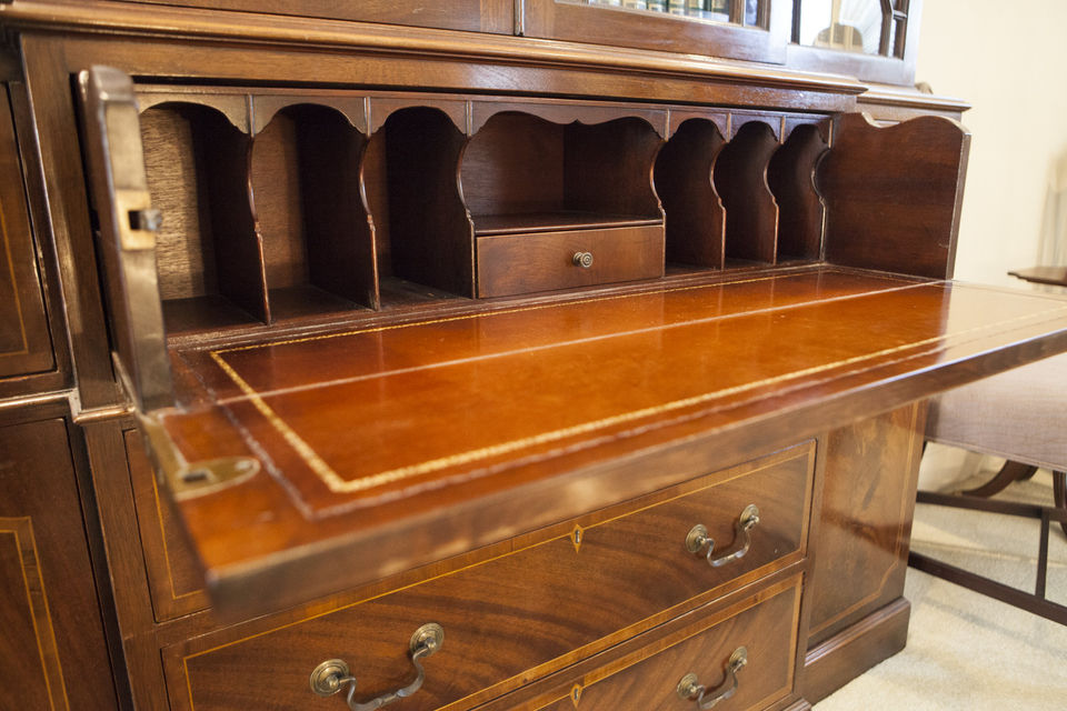 It S Mind Boggling This Gany Breakfront Secretary Was Made By The Saginaw Furniture Company