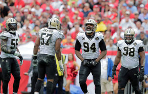 The New Orleans Saints benefitted from improved defensive line play in 2018 as the team increased its sack total and became one of the best run-stopping units in the NFL.