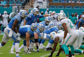 Here are photos from the Lions' game against the Dolphins.