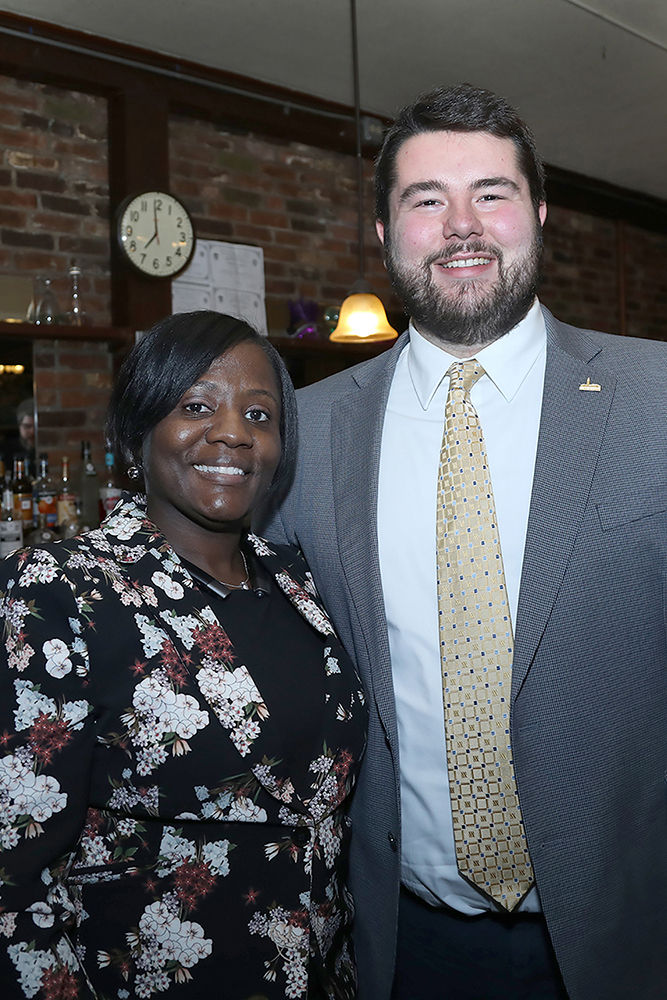 The Annual Ward Four Democratic Committee Annual Egg Nog Party took place at the Fraternal Order of Eagles on Dec. 13th