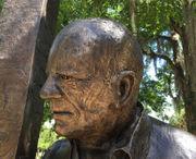 Novelist Walker Percy appears in Covington's Bogue Falaya Park