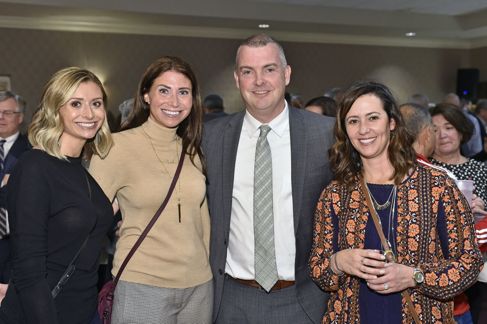 Reception for retired Judge William J. Boyle, first justice Springfield District Court, at the Lusitano Club