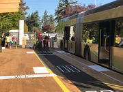 TriMet tests Division plan to keep buses, cyclists from colliding