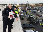 Chicopee Cop on Top to help Special Olympics: 2 to sleep on Walmart roof