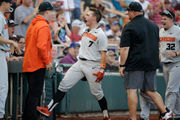 Oregon State Beavers beat Mississippi State 5-2, move on to face Arkansas in College World Series Finals