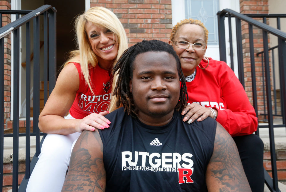 new style dd59e 934ca This Rutgers standout's life story is compared to 'The Blind ...