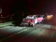 Texting while driving possible factor in fatal vehicle-combine crash