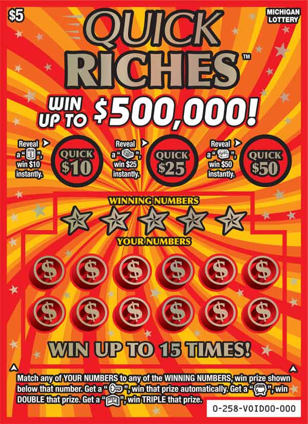 Here are the top remaining instant lottery tickets prizes in