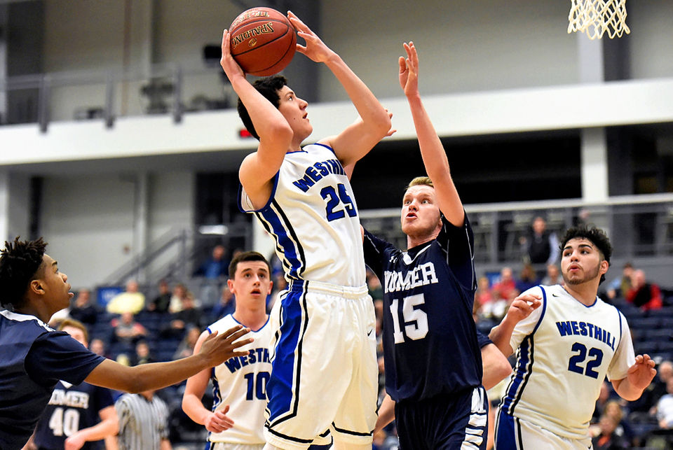 Central new york high school boys basketball syracuse westhill advances to sectional championship loses dadey to injury in win over homer boys basketball fandeluxe Image collections