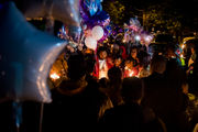 More than 100 celebrate life of slain 7-year-old