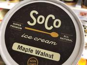 Ice cream review: SoCo Creamery Maple Walnut ice cream