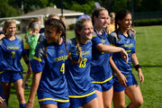 Marian girls soccer caps 2nd straight unbeaten season with state title