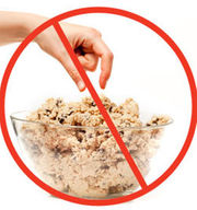Raw cookie dough can give you diarrhea and a bunch of other things you don't want for Christmas