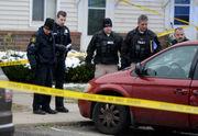 Man dies after being shot multiple times through van windshield, police say