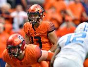 Tommy DeVito leads Syracuse football to OT win over North Carolina