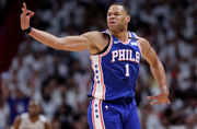 T.J. McConnell, Justin Anderson boost Sixers off bench in Game 3 win over Heat