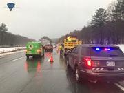 Traffic diverted off Massachusetts Turnpike following tractor-trailer crash