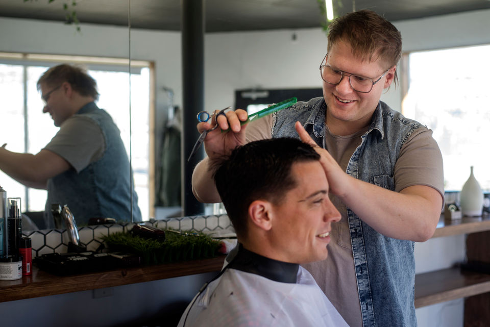 Dapper Man A Trendy Mens Hair Salon Opens In Jackson Mlive