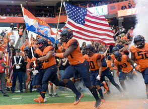 Syracuse, N.Y. -- Syracuse football is 4-0 for the first time since 1991 after Saturday's 51-21 victory against Connecticut. That's not the only drought the Orange could end in Dino Babers' third season. This week's stock watch takes a look at the players and themes rising and falling heading into the next opponent. And Syracuse heads to Clemson next weekend, a big milestone awaits.