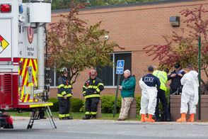 The Social Security office on Bond Street in Springfield was evacuated Tuesday after a report of a suspicious package.