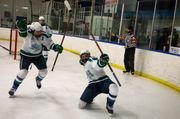 Saginaw Heritage breaks away from Flint Powers for SVL hockey title
