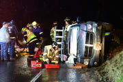 Dodge SUV rolls in 1-vehicle crash in Greenwich Township (PHOTOS)