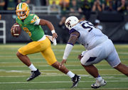 A look back at the last decade of Nike's Oregon Ducks football uniforms