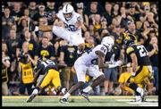 Penn State running back Saquon Barkley through the years