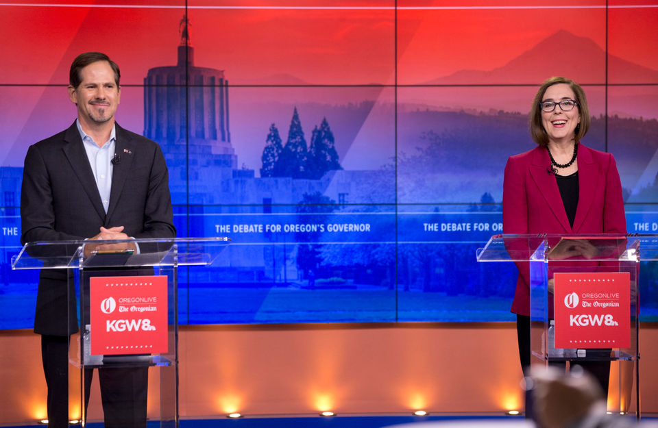 5 takeaways from Oregon's final governor debate: Vaccines, pensions, death penalty, I-5 Bridge and Trump