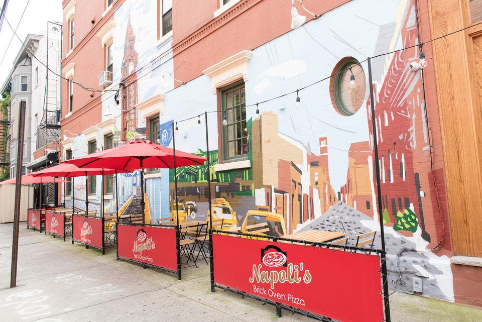 The story behind Hoboken's new street mural (spoiler alert: it involves pizza)